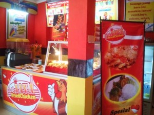 seneng aja waralaba franchise van java resto fried chicken makin laris enak terus nih