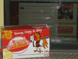 dus box  waralaba ayam crispy franchise fried chicken murah